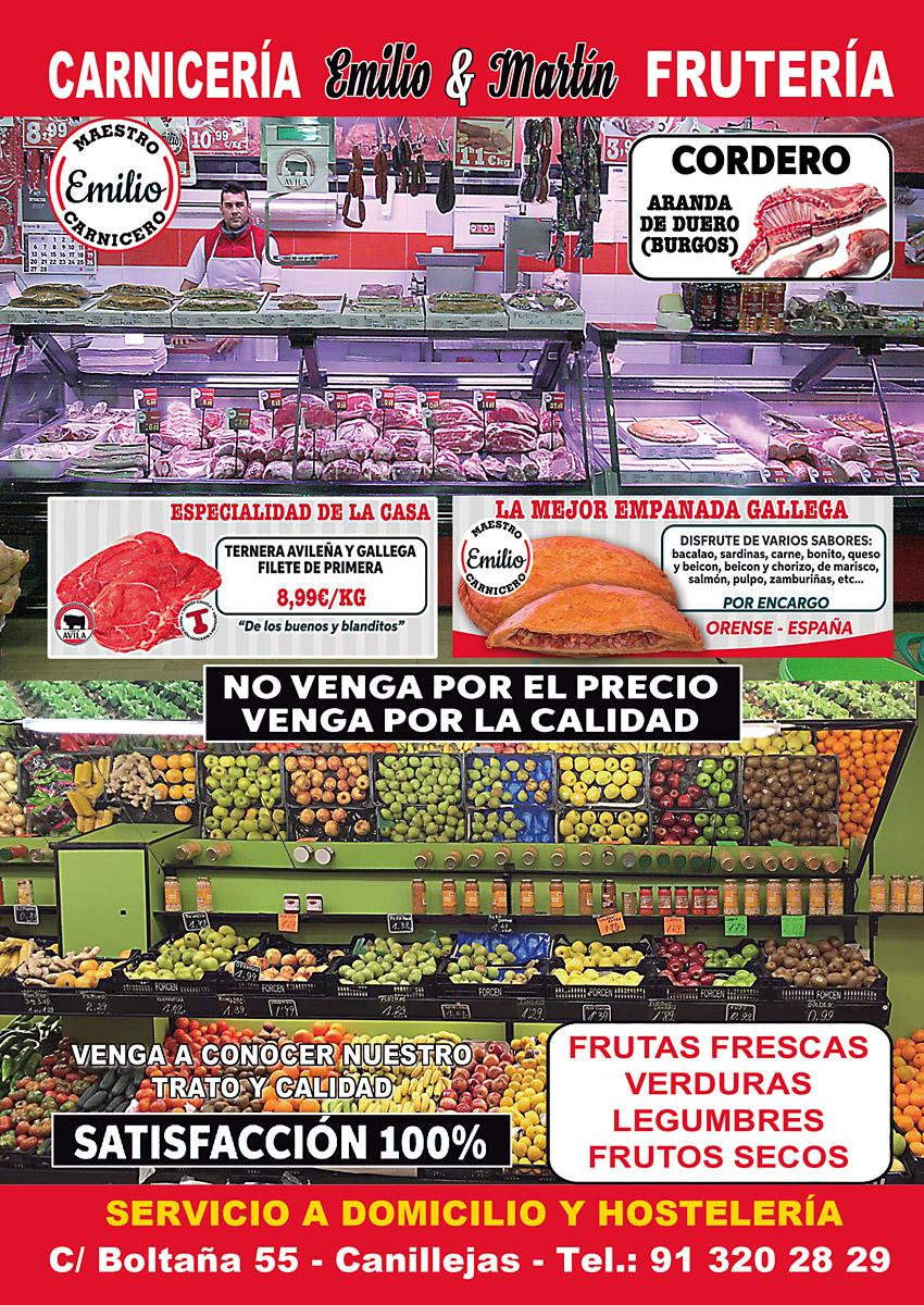 Carnicería Frutería Emilio & Martín