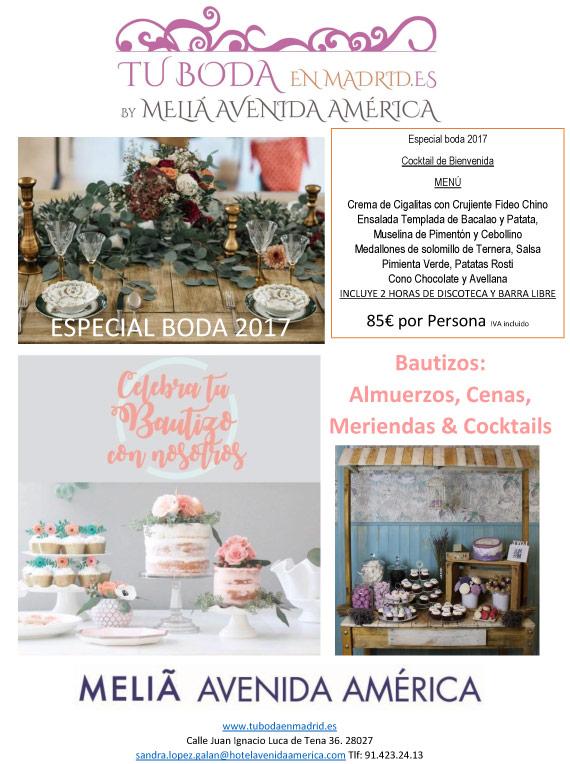 Tu boda en Meliá,  Avenida de America