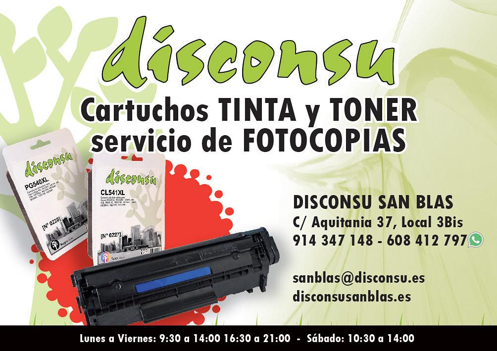 Disconsu San Blas - Cartuchos TINTA y TONER, Servicio de FOTOCOPIAS