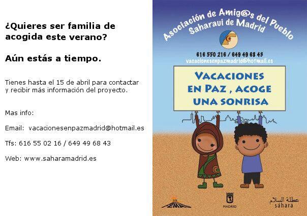 Asociacion de amigos del pueblo saharaui de Madrid