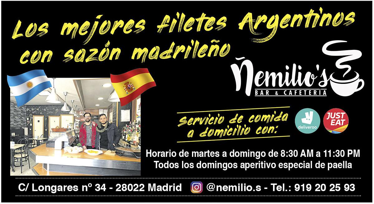 Ñemilio's Bar & Cafetería