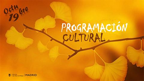 Programación cultural de octubre 2019
