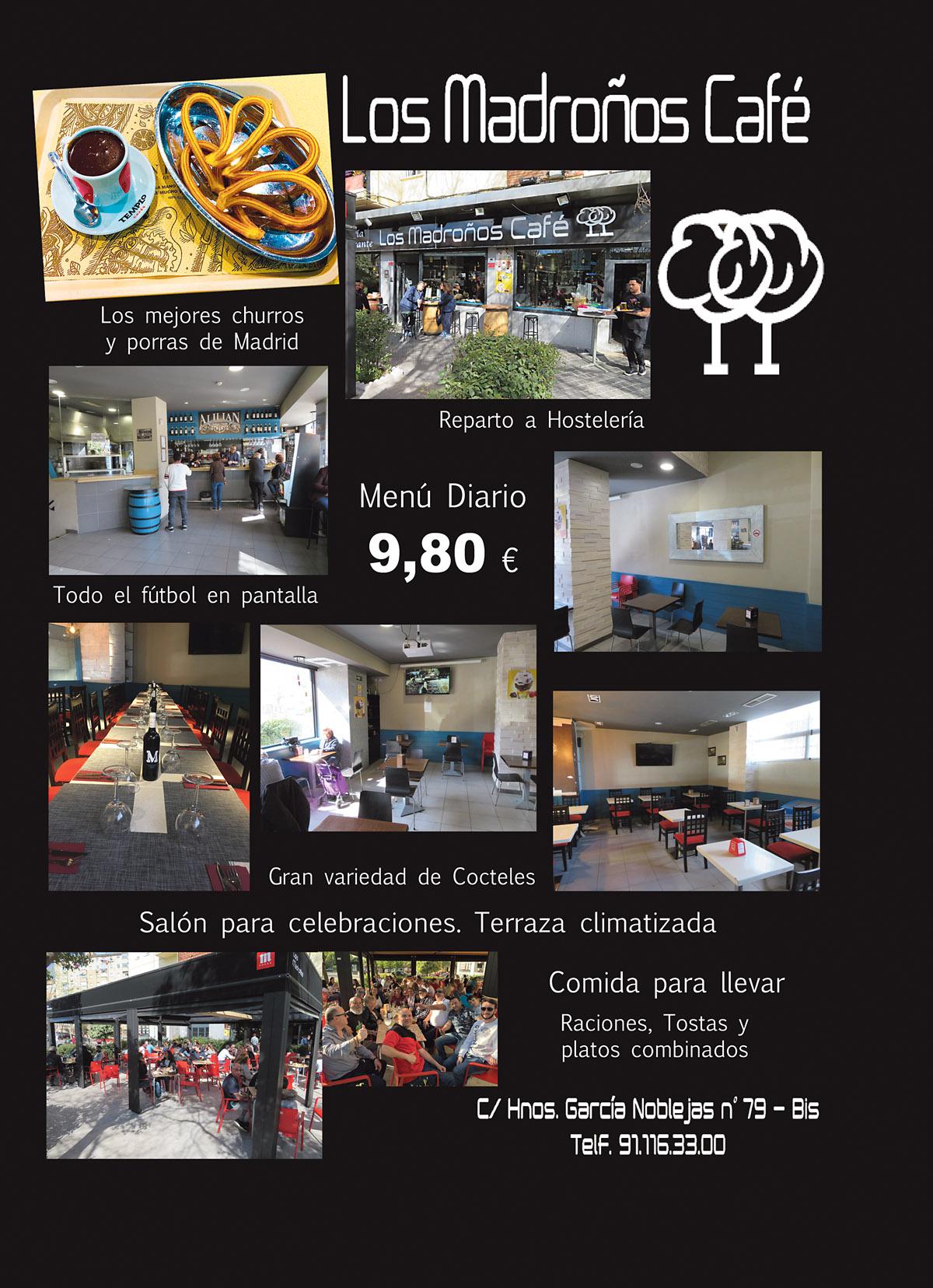Los Madroños Café