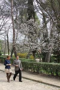 Almudena Maillo en el Parque Quinta De Los Molinos