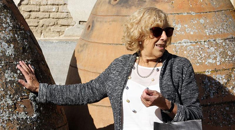 Manuela Carmena en Torre Arias