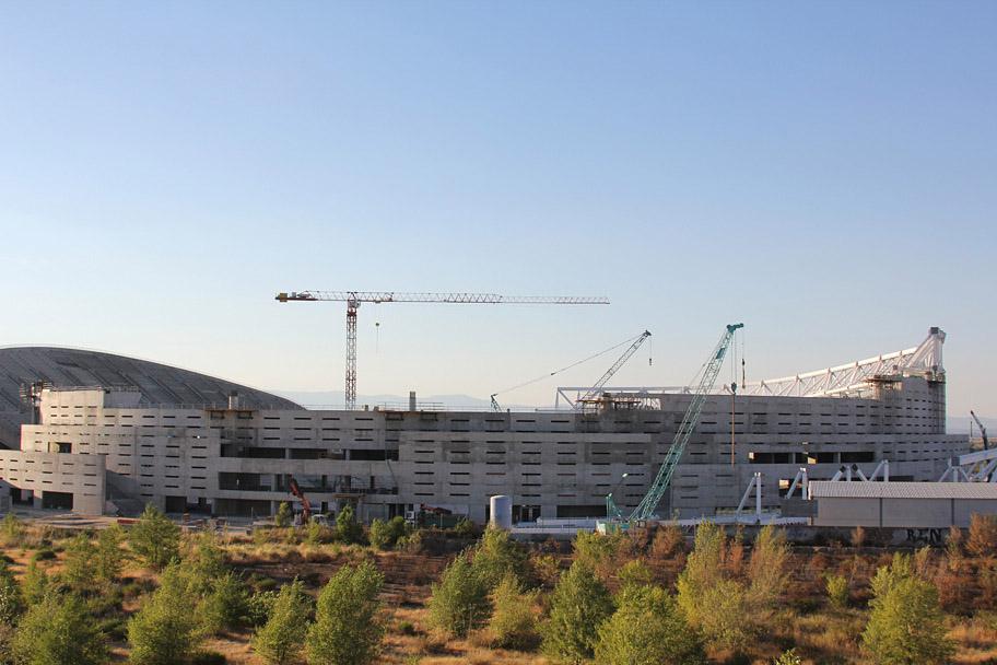 Estadio La Peineta Agosto 2016