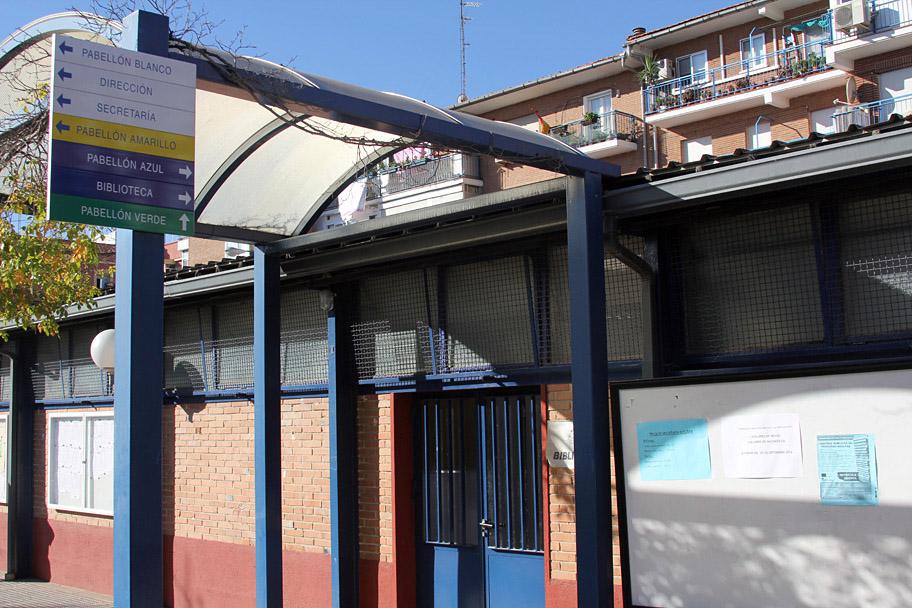 La biblioteca del CEPA (Centro de Educación de Personas Adultas) de Canillejas