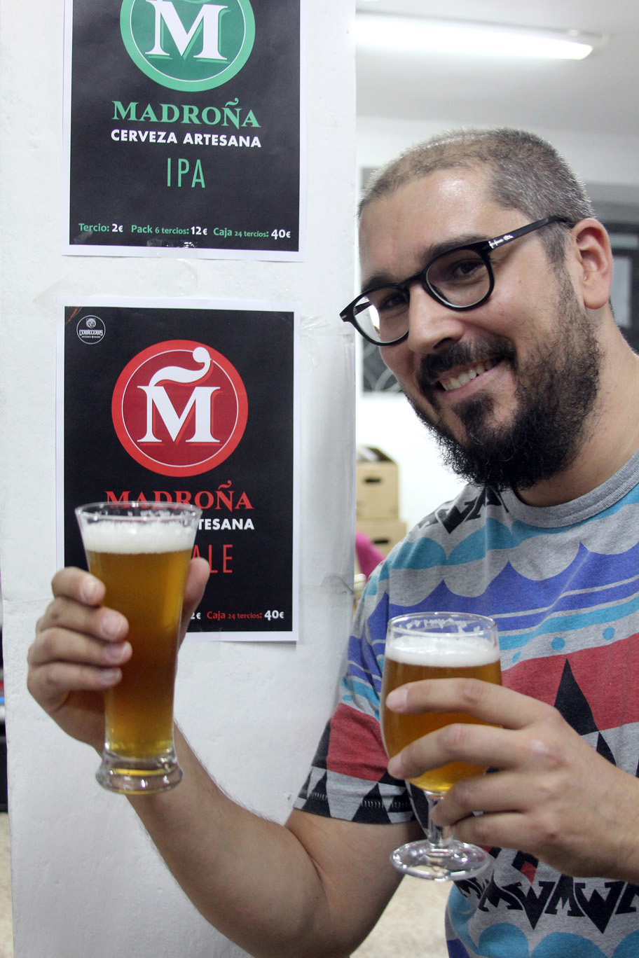 Cerveza Madroña