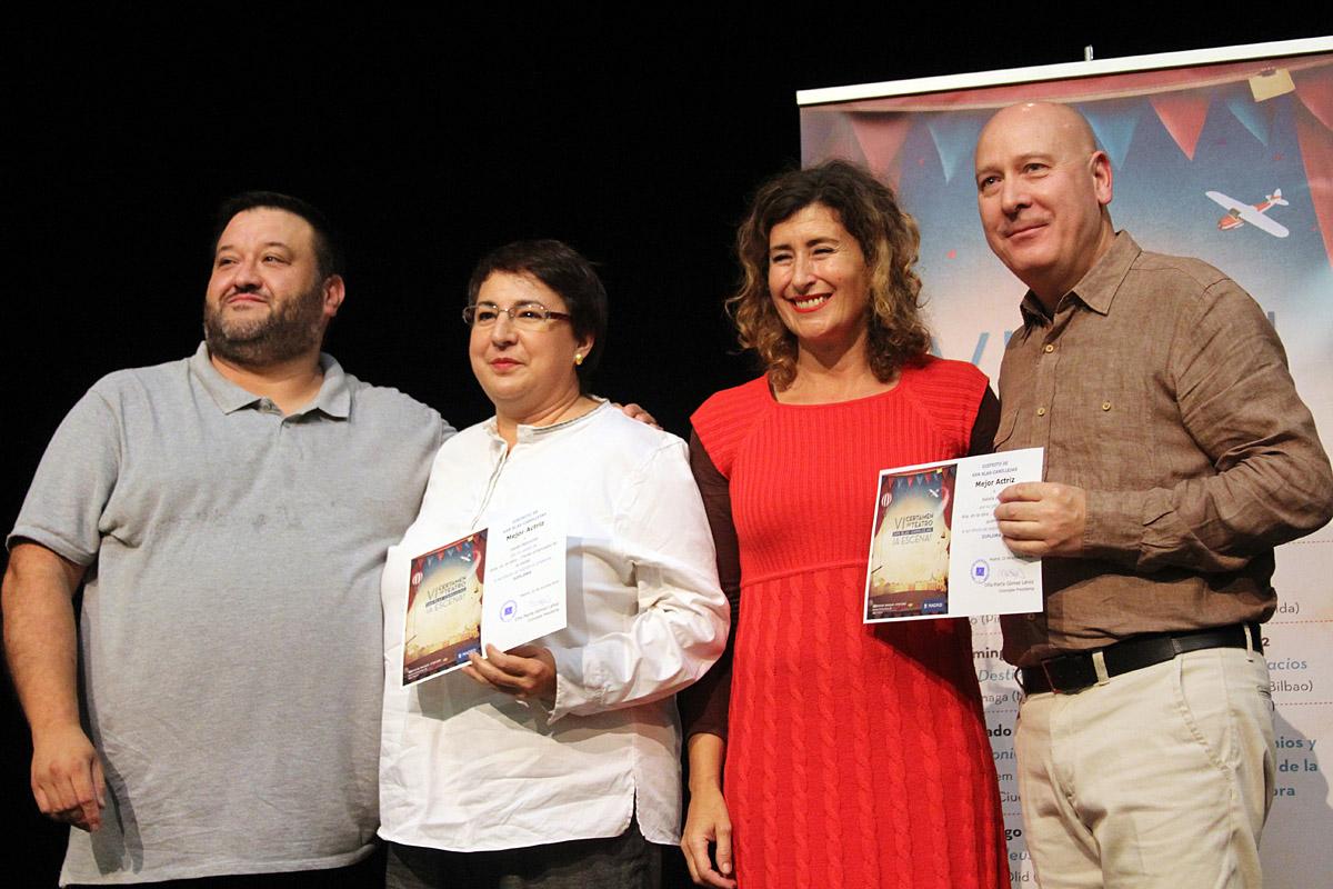 El primer premio del VI Certamen de Teatro fue para la obra Q