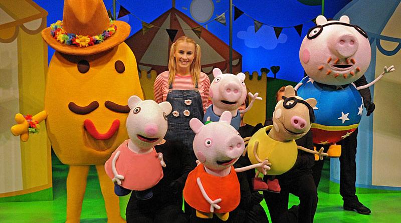 Peppa Pig's Big Splash en el teatro Fernán Gómez