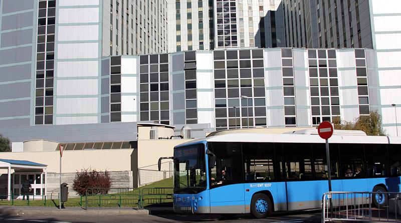 Autobus, Hospital Ramón y Cajal