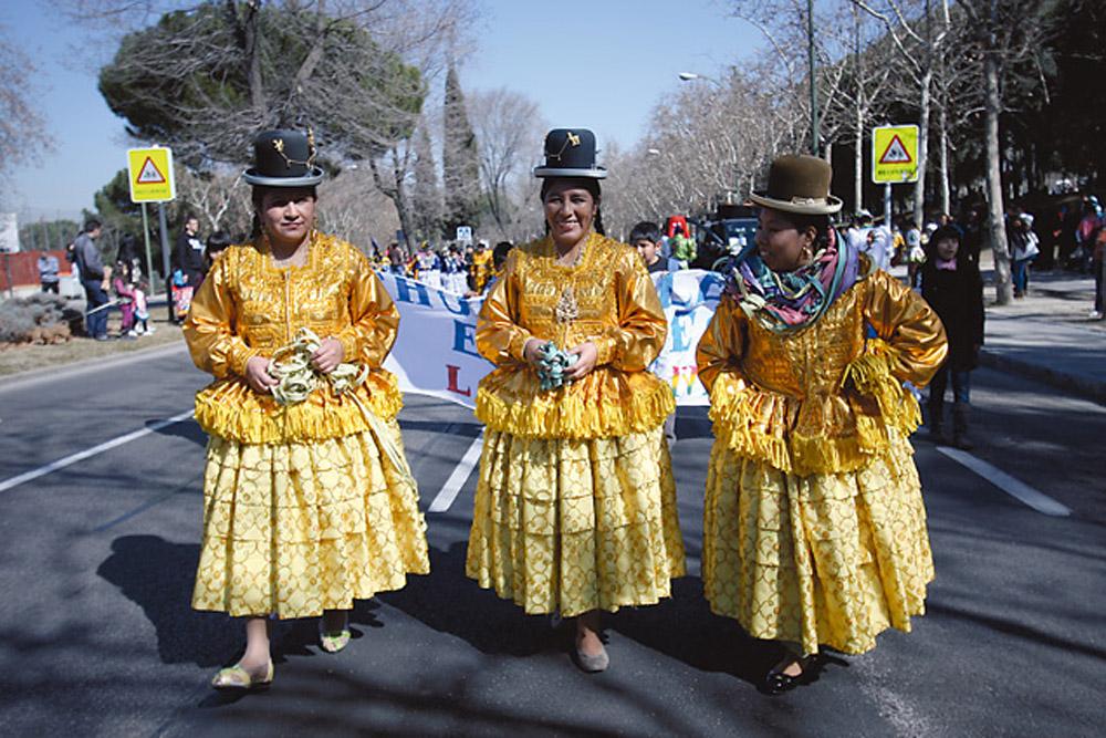 Carnaval San Blas-Canillejas - Bolivia