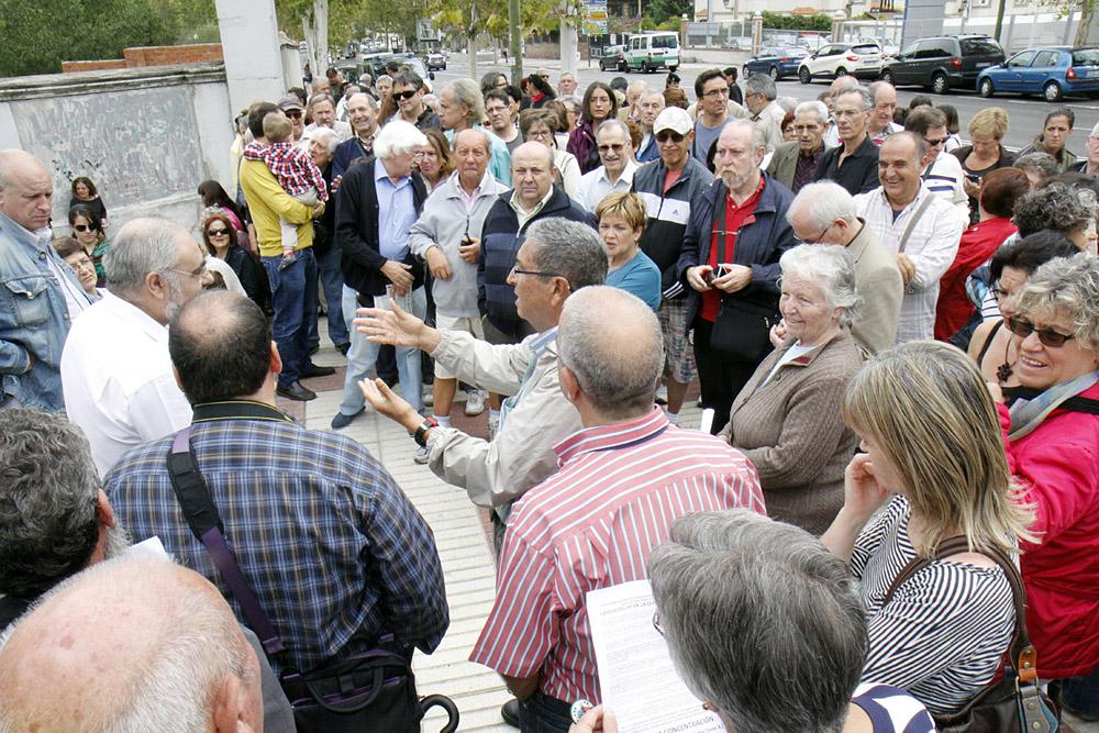 Una placa recordará el movimiento ciudadano en Torre Arias