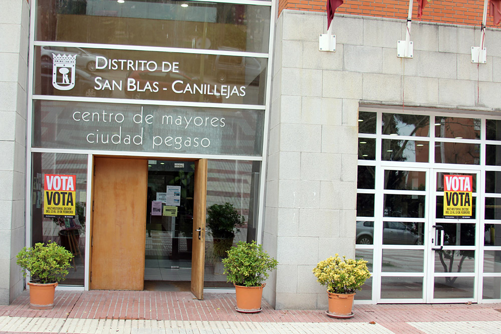 San Blas-Canillejas vota el Plan Participativo