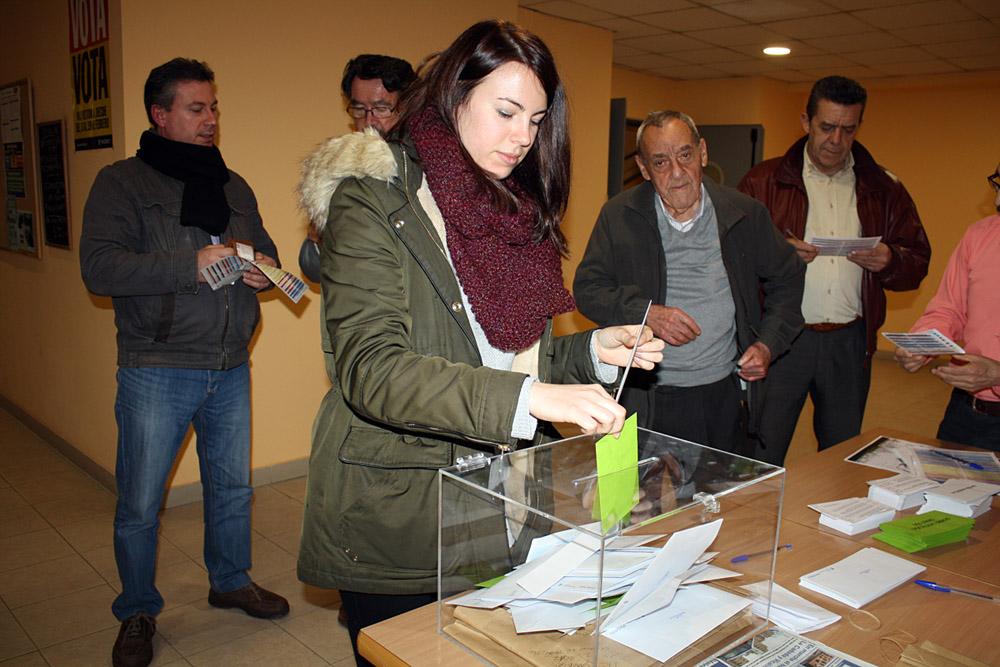 Votaciones en Simancas