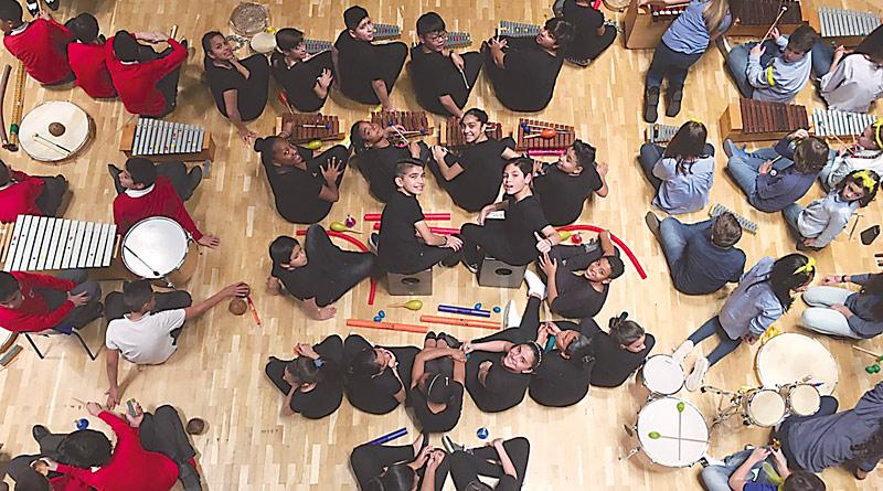Los alumnos del CP Panamá demostraron talento en el Auditorio Nacional de Música
