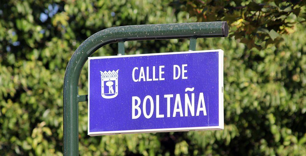 La calle Boltaña