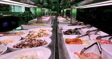 El buffet libre más completo de cocinaasiática yespañola