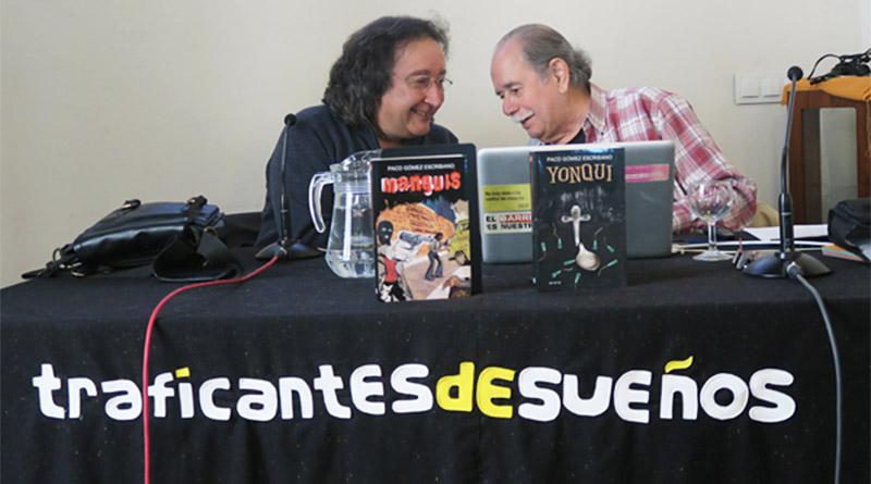 Paco Gómez Escribano y Manolo Rodríguez