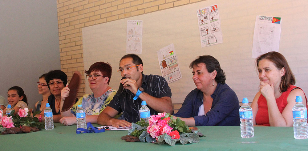 El IES Alfredo Kraus inaugura un huerto en homenaje a Berta Cáceres - Marta Gómez