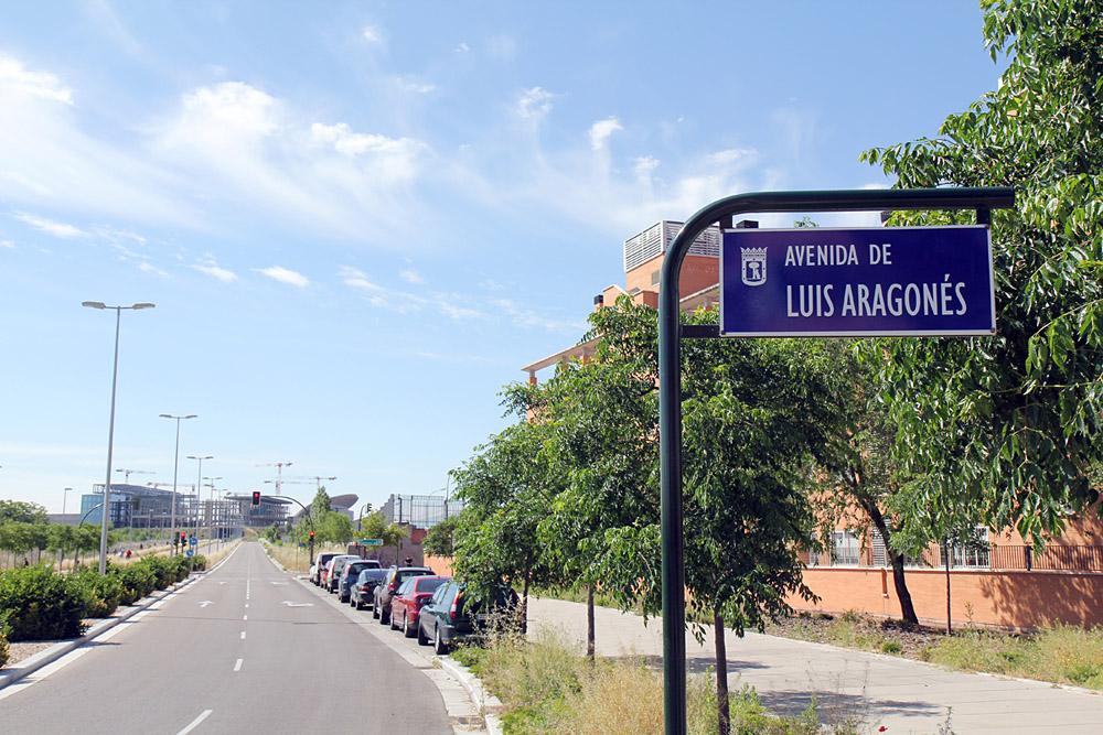 Avenida de Luis Aragonés