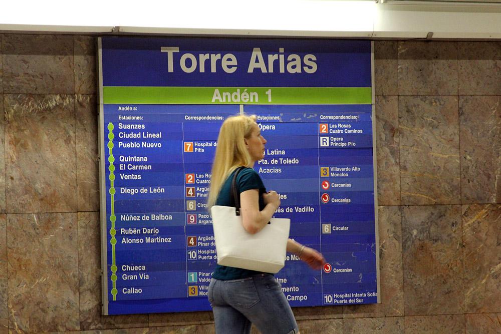 Metro suspende por obras la Línea 5 todo el verano