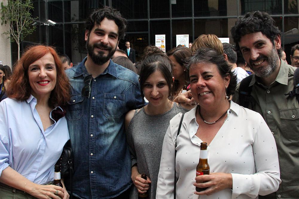 5ª Ruta de la Tapa y Tiendas de San Blas-Canillejas. Elvira Lindo, Marta Gómez