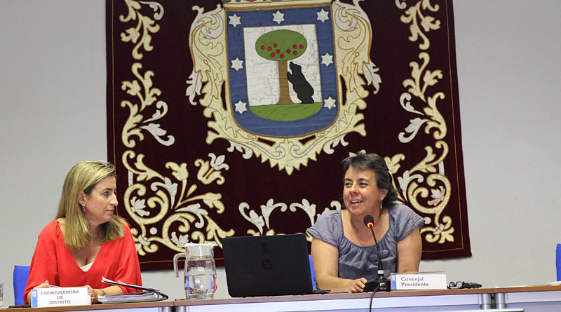 Marta Gómez rindió cuentas en el debate sobre el Estado del Distrito