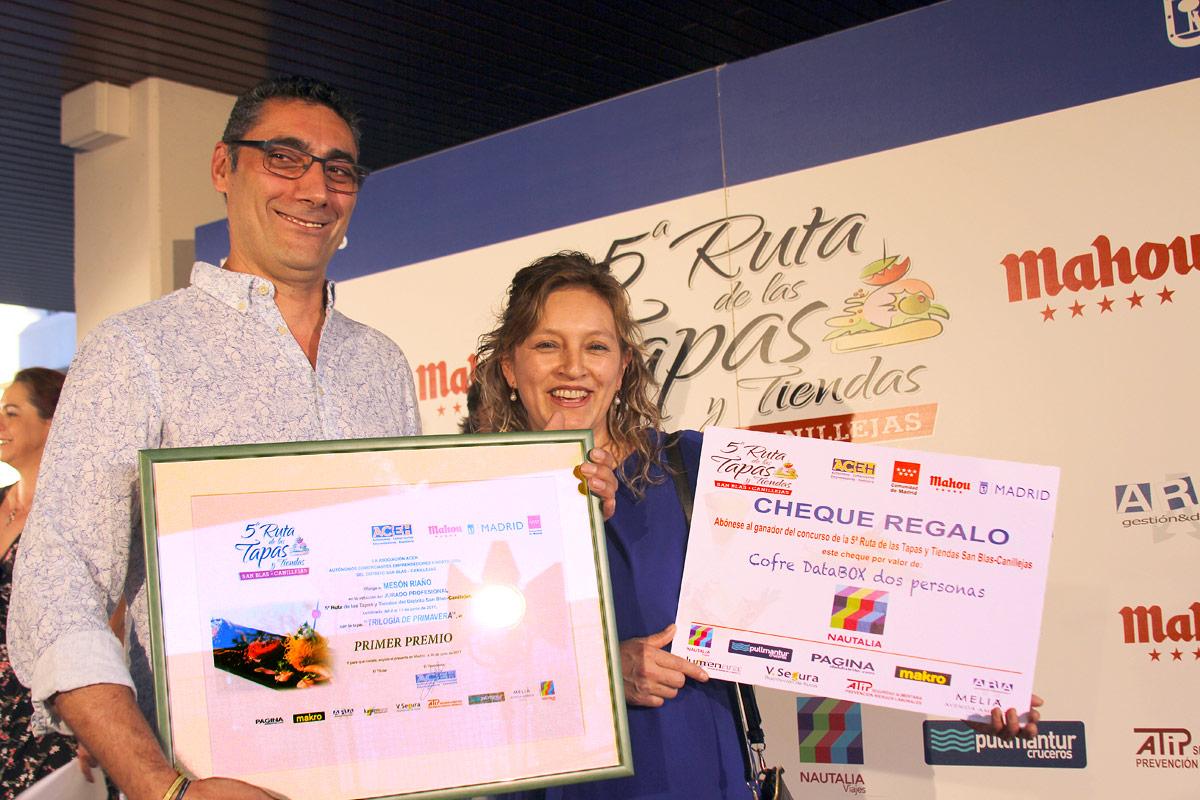 """Toni y Rosa, del Mesón Riaño, se llevaron el primer premio del jurado profesional con """"Trilogía de primavera"""""""