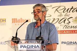 José Rubio, coordinador del evento