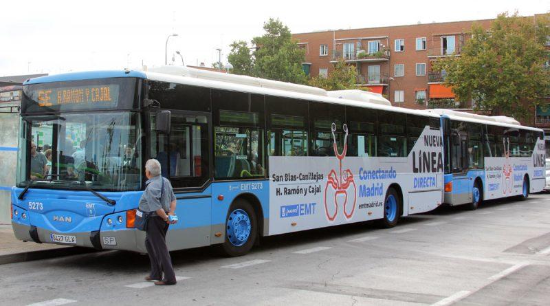 Se pone en marcha el autobús directo al RamónyCajal