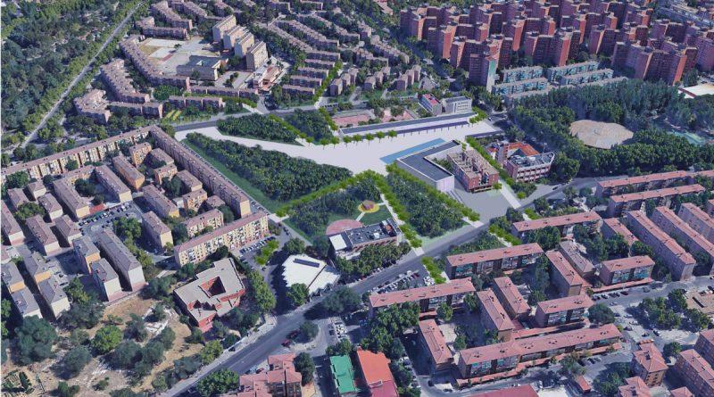 Los ciudadanos votan la remodelación de la Plaza Cívica