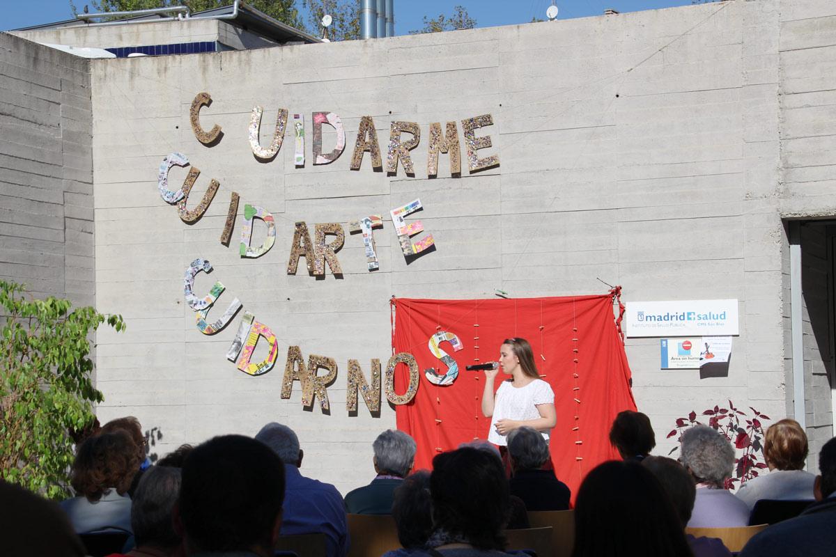Celebración del Día Mundial de la Salud Mental en el distrito de San Blas-Canillejas