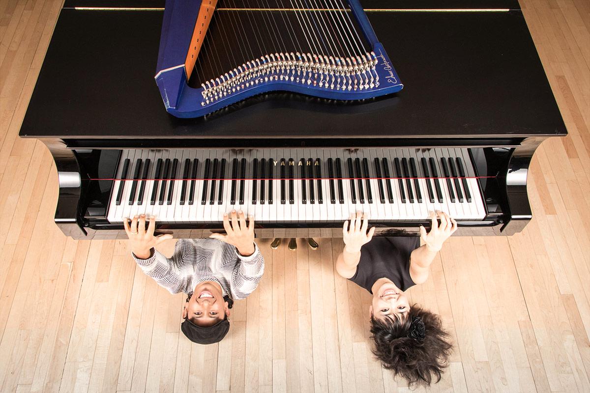 Hiromi y Edmar Castañeda, el concierto más transgresor en el Teatro Apolo