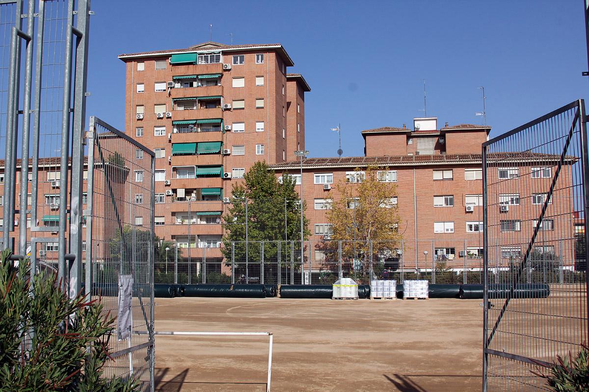 El campo de fútbol Antonio Palacios