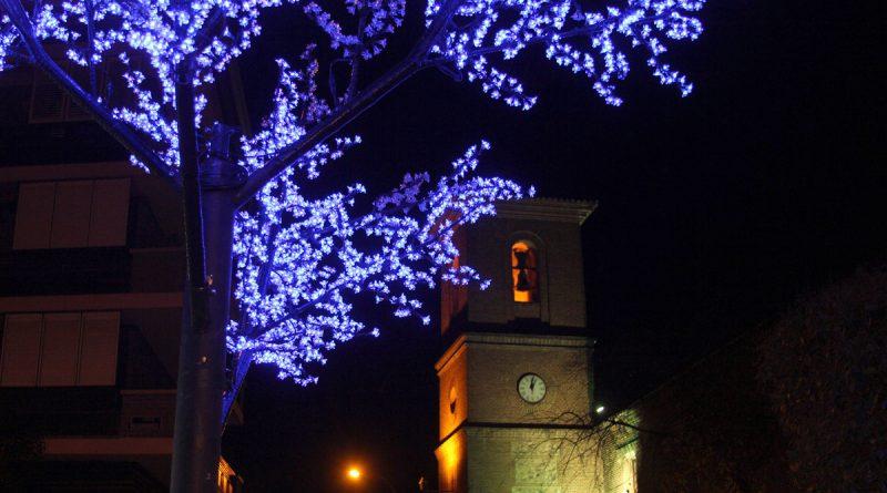 San Blas-Canillejas estrena nueva iluminación navideña