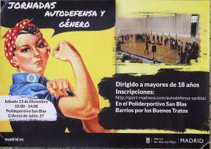 III Jornada de autodefensa y género,