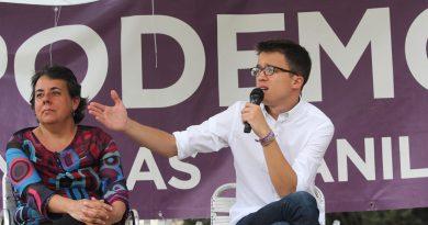 Iñigo Errejón. El Círculo de Podemos de San Blas-Canillejas