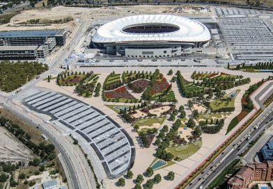 El entorno del Metropolitano y del Centro Acuático serán ajardinados