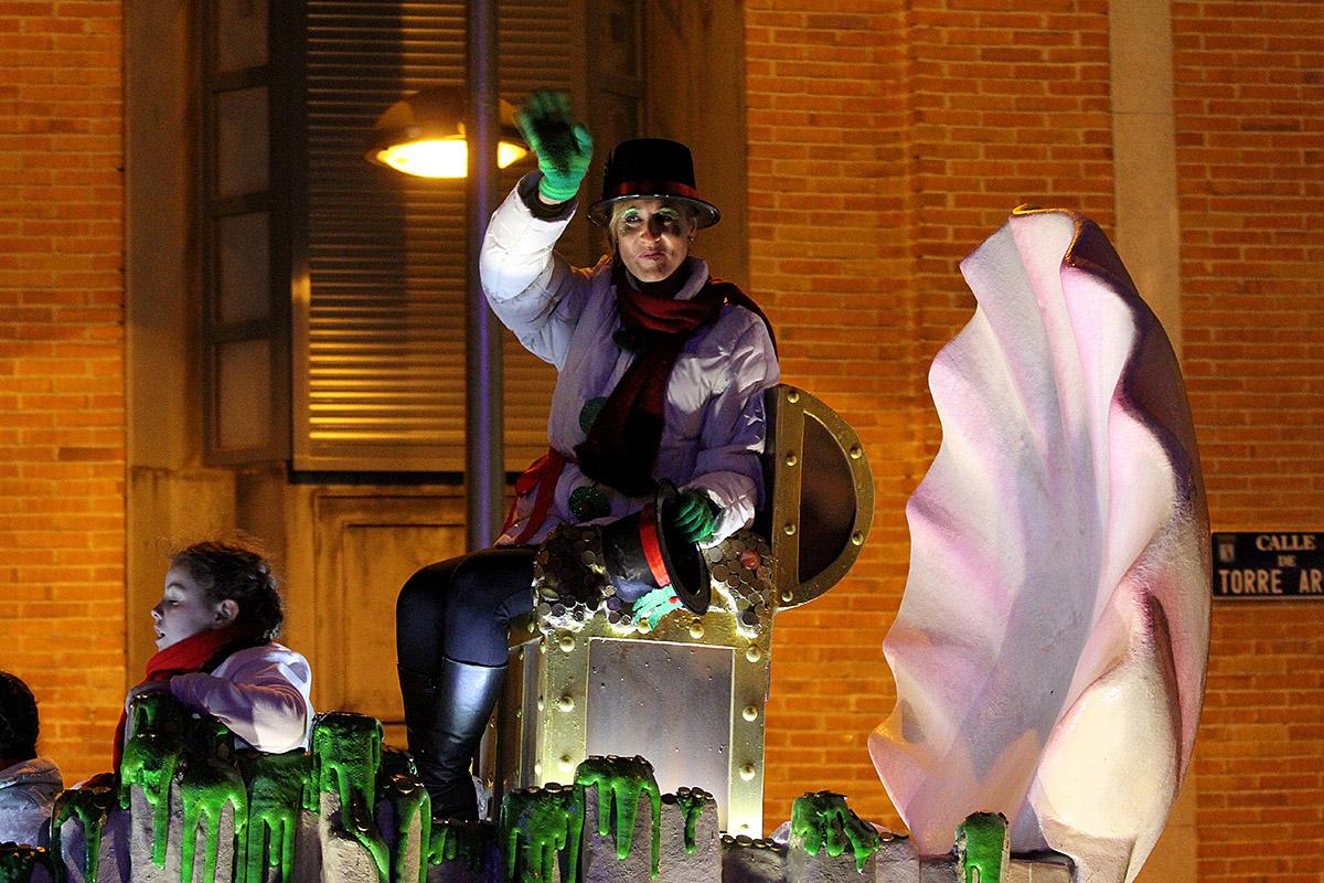 Daniela. La Cabalgata de Reyes de San Blas-Canillejas