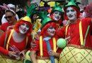 El Carnaval del distrito se celebra en el auditorio del parqueParaíso