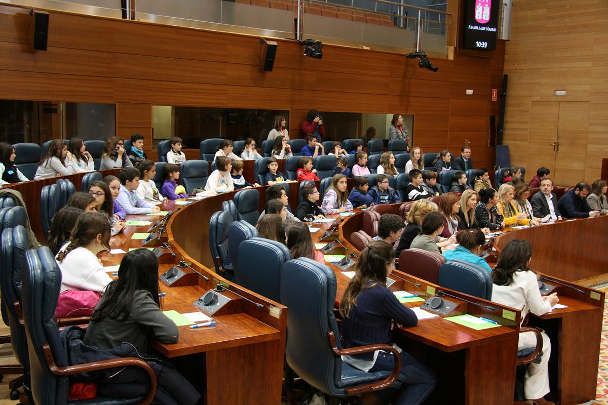 Diputados por un día en la Asamblea