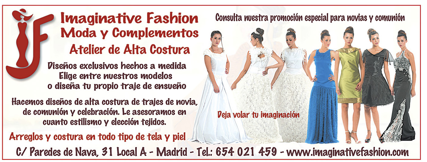 Imaginative Fashion Atelier de Alta Costura