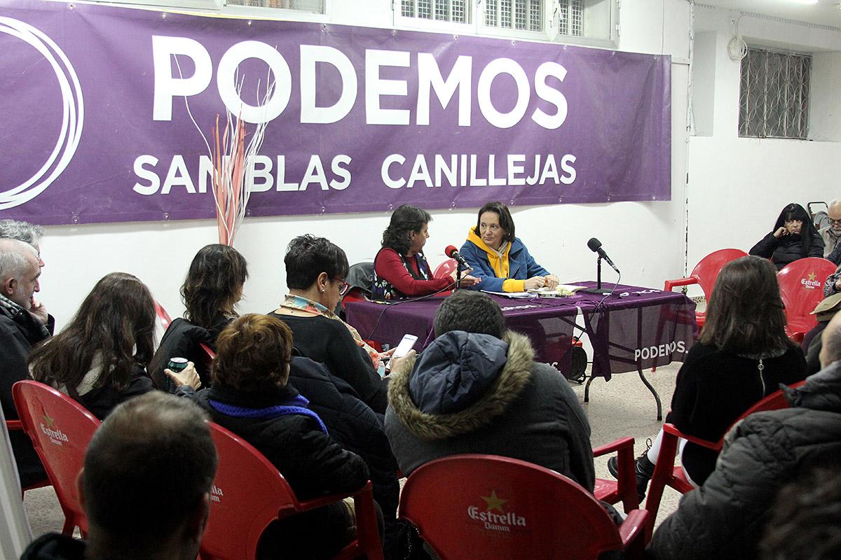 Marta Gómez y Carolina Bescansa