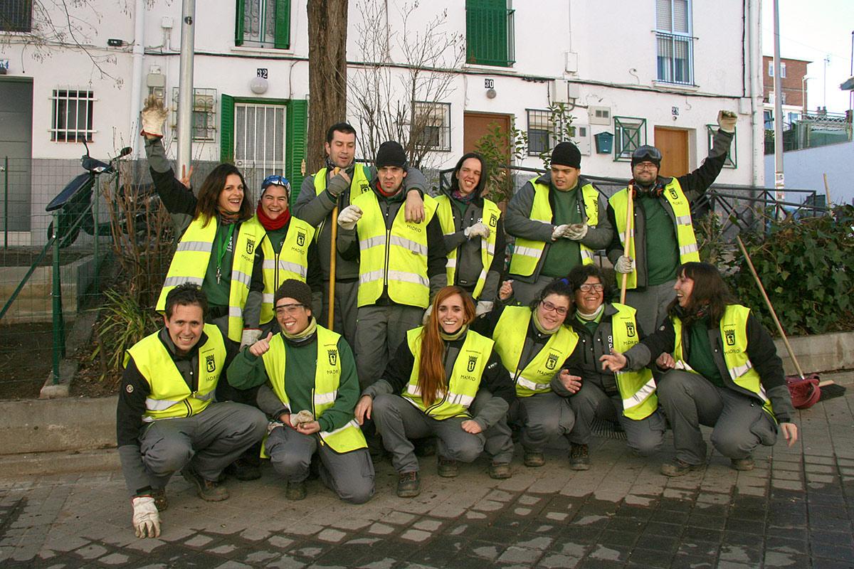 Recuperaci n ambiental inclusiva pagina del distrito - Trabajo jardineria madrid ...