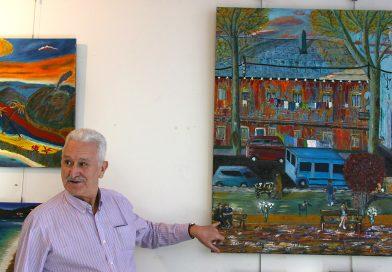 """Julián González: """"Me atrae la pintura que se acerque a lo moderno"""""""