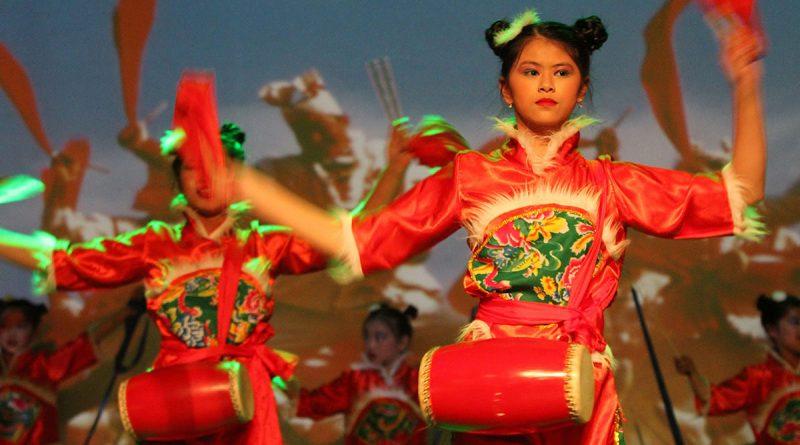 La comunidad china celebró el Festival de Primavera en el CCMachado