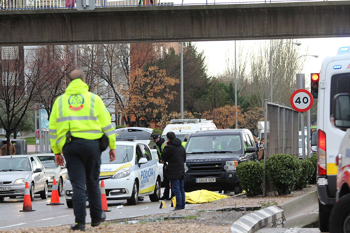 Muere una mujer atropellada en la Avenida de Arcentales