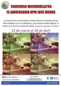 Jose Hierro - concurso de microrrelatos