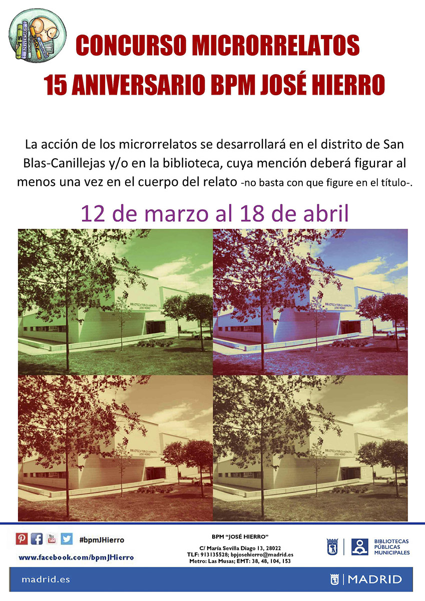 Bibliotecas Públicas en la Comunidad de Madrid